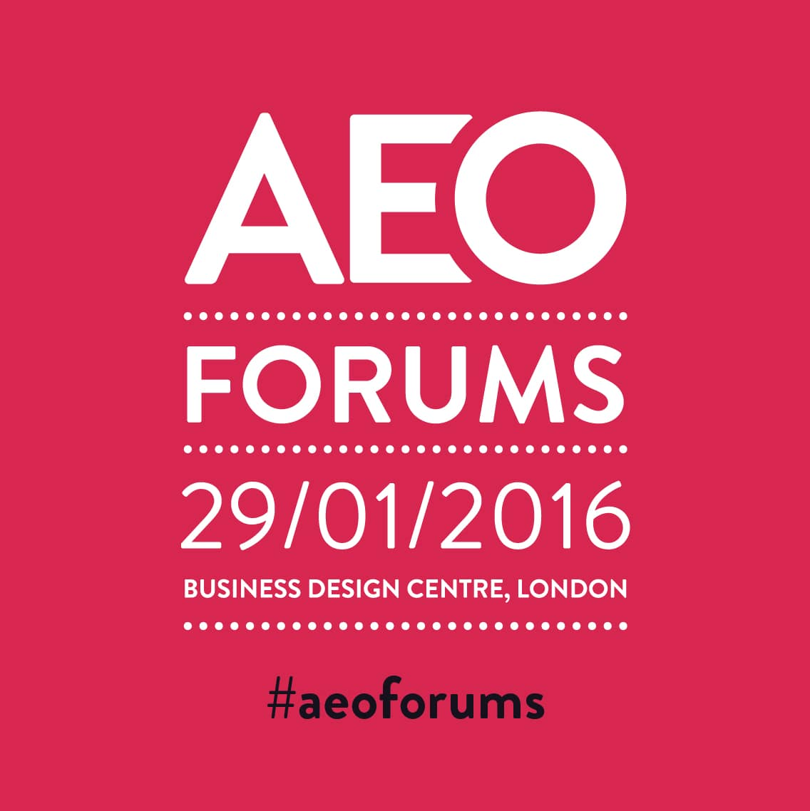 AEO Marketing and Ops Forums Review 2016 - AEO