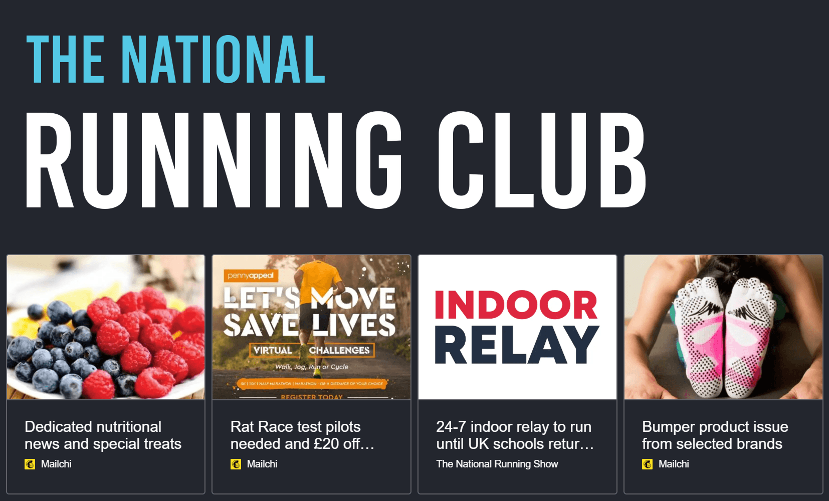 national running club